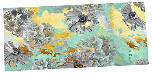 kess-inhouse-zara-martina-mansen-mint-gold-garden-green-gray-mousepad-13-x-22-zm2022adp01