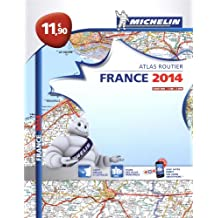 Atlas Routier France 2014 Michelin Broché L'essentiel