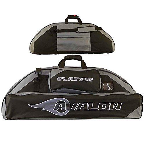 AVALON Classic - 106 cm - Compoundbogentasche mit Rucksackfunktion schwarz-grau