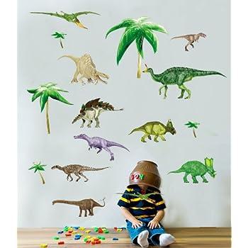 Dinosaur Nursery and Bedroom Walll Stickers: Amazon.co.uk: Baby