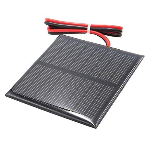 Fenteer Kleine Solarpanel Solarmodul Solarzelle Polykristallin DIY Solarpanel - C 4V 70x70mm
