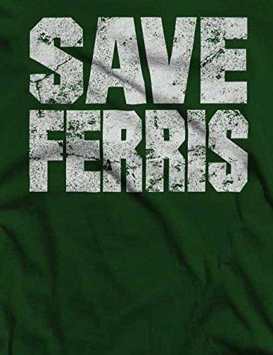 Save Ferris T-Shirt S-XXL 12 Farben / Colours Dunkel Grün