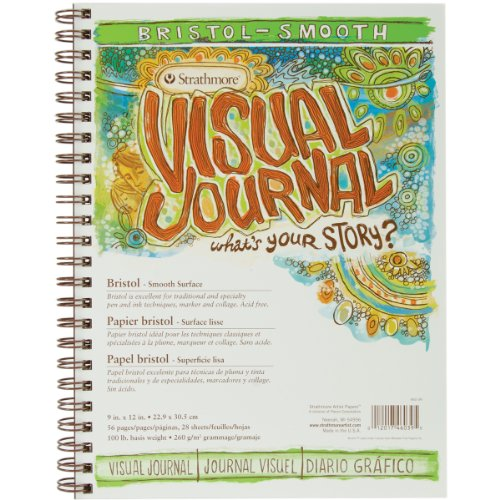 Strathmore Visual Journal Bristol Smooth 9