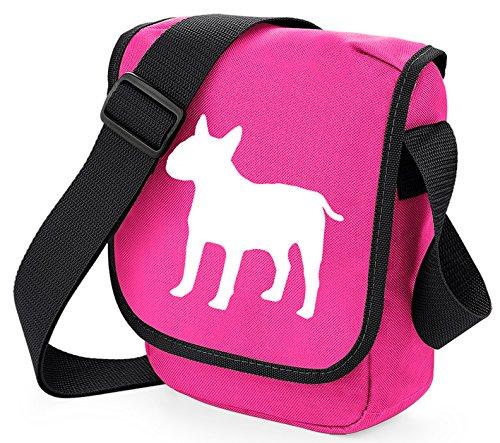 Bag Pixie, Borsa a spalla donna White Dog Black Bag