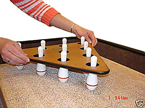 Sun-Glo Shuffleboard Bowling Pins and Pinsetter by Sun-Glo - Shuffleboard-pins