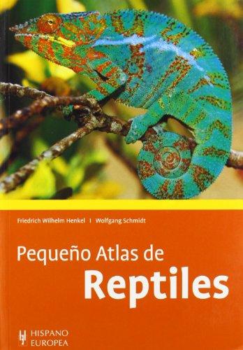 Pequeño atlas de reptiles por Friedrich Henkel