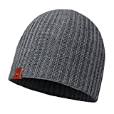 Buff Knitted Hat Haan Mütze, Grey Castlerock, One Size