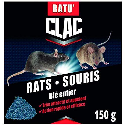 RATUCLAC Rat-Souris cereales 150g