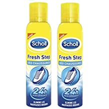 Scholl Spray Anti-Odeurs 150 ml - Lot de 2