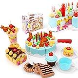 Arvin87Lyly Küchenspielzeug Schneiden Obst Gemüse, Obstschneiden Kinder mit Klettband, für Mädchen von 3 Jahre und Älter