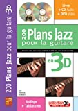 Robert Yannick 200 Plans Jazz Pour La Guitare En 3D Gtr Bk/Cd/Dvd Fre
