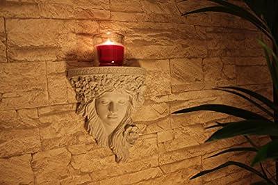 TCL Frau Konsole - Wunderschöne Steinfiguren als Wanddeko oder Wohndeko für Ihr Zuhause - Diese Deko Skulpturen verschönern jedes Zimmer und jeden Raum von TCL Design auf Du und dein Garten