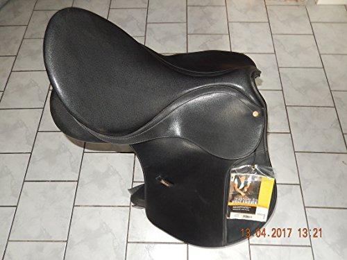 """WINTEC BATES Dressursattel 17,5""""/44cm, Mittlere Kammer, schwarz, Musterstück NEUWERTIG"""