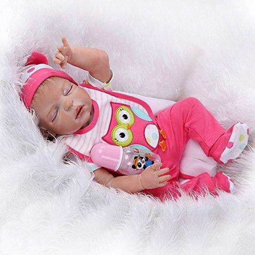 Precioso bebé reborn de silicona Nicery con boca magnética