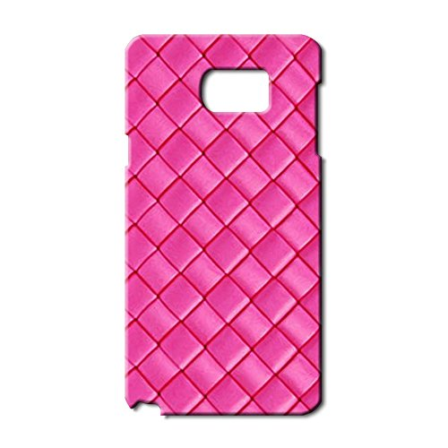 bottega-veneta-logo-hard-plastic-samsung-galaxy-note-5-case-cover-bv-pretty-slim-pink-back-design-fo