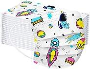 BINMUO Niños/Bebé Reutilizable y Lavable con Bandas Elasticas para Los Oídos unidades Pack 50/100 unidades