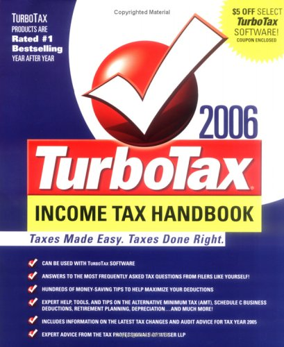 the-turbotax-2006-income-tax-handbook-taxes-made-easy-taxes-done-right-turbotax-income-tax-handbook-