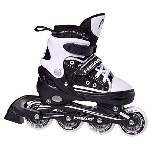HEAD Kinder Inline Skates Cool, schwarz/weiß, 34-37