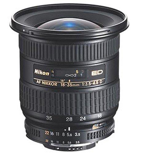 Nikon AF Zoom-Nikkor 18-35mm/3.5-4.5 D IF-ED Autofokus-Zoom-Objektiv (77mm Filtergewinde) Nikon D2h-set