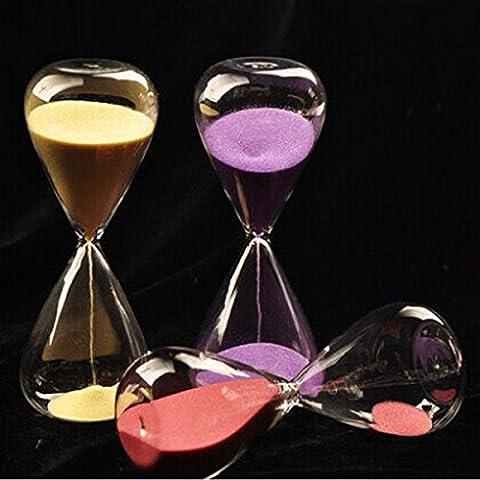 Yongse 5 minuti Clessidra Clessidra Time Counter conto alla rovescia Orologio Mestieri decorativi