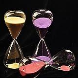 Bluelover 5 Minuten Sanduhr Sanduhr Zeit Zähler Countdown Timer Clock Dekorative Handwerk