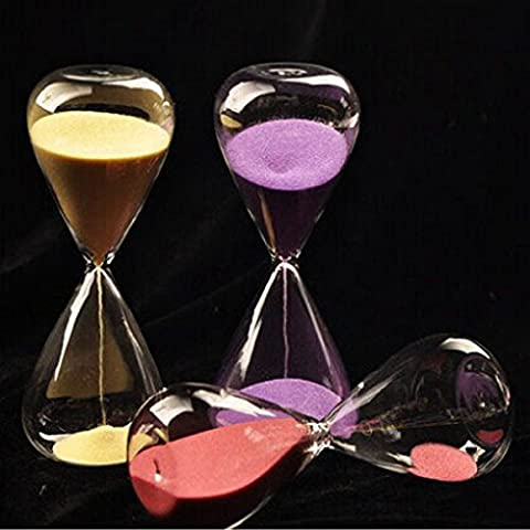 BlueLover 5 Minutes Sandglass Hourglass Time Counter Count Down Timer Clock Decorative Crafts