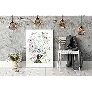 Poster als Gästebuch zur Hochzeit Tree of Love