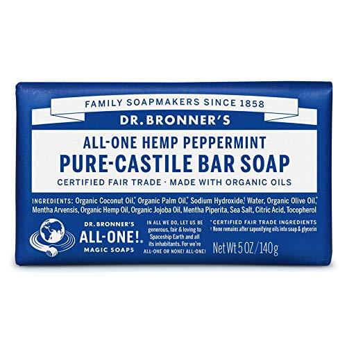 Dr. Bronner's Jabón de bar puro de castillo