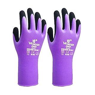 SK Studio Kids Garden Gloves Children Thornproof Work Gloves Hypo-allergenic Purple