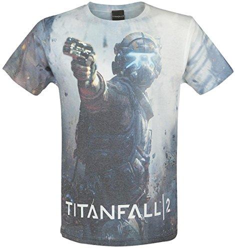 Titanfall 2-Jack maglietta Multicolore White Large