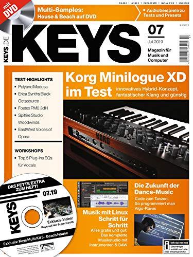 Korg Minilogue XD im Test Multi Samples auf DVD Workshop EQ für Vocals in der KEYS