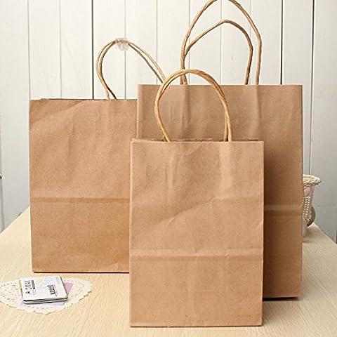 Tutoy Sac En Papier Kraft En Papier Sacs En Papier Sacs En Papier Recyclable Shopping Party Sacs Cadeaux