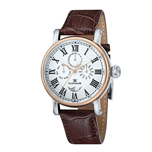 Thomas Earnshaw Maskelyne - Reloj para hombre, color marrón