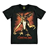 Gremlins T-Shirt - Gizmo Shirt - schwarz - Original Marke Traktor®, Größe XL