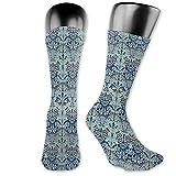 Photo de chaussettes Bluebell Columbine Crew Socks Chaussette Décontractée Drôle Nouveauté Athlétique par lei-monmon-socks