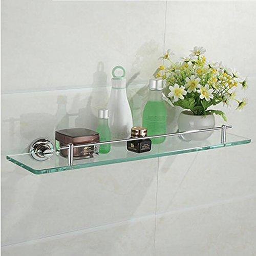 Ensemble de salle de bain en cuivre, étagère de salle de bain, miroir de salle de bain Ensemble mural de tablette avant Étagère
