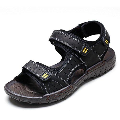 Männer Im Freien Watschuhe Sommer Sandalen Nach Hause Black