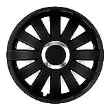 Autoteppich Stylers 13 Zoll Radkappen Onyx Schwarz (Farbe und Größe wählbar!)