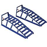 COSTWAY 2x Auffahrrampen Auffahrrampe PKW KFZ Rampe Auffahrbock Verladerampe Rampen 2000 kg