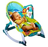 Toyshine Newborn to Toddler Vibrating Rocker Chair with Calming Vibrations & Adjustable Mode
