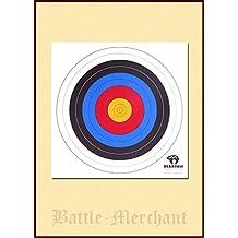 10unidades de tiro 40X 40Cm o 60x 60cm Target cojines para tiro con arco LARP arquero Medieval Vikingo, Weiß, 60 cm
