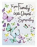Tiefes Mitgefühl Grußkarte Verlust, um Ihre Familie Thinking of You schmerzlichen Verlust
