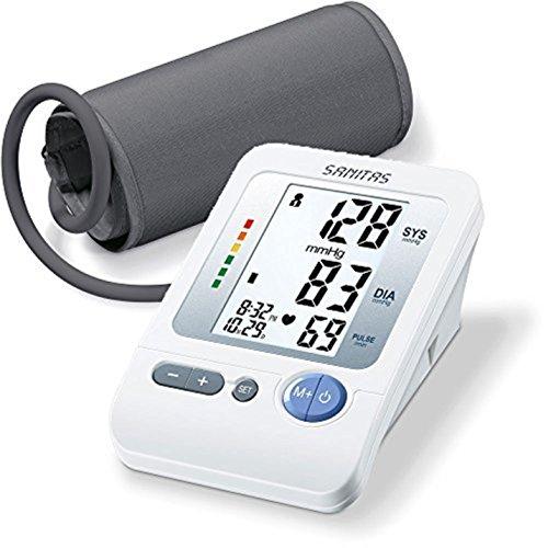 Sanitas Italia SBM21 Misuratore di Pressione Sistolica e Diastolica e del battito cardiaco sul braccio