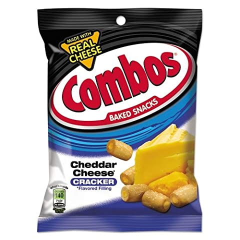 Combos Cheddar Cheese Cracker Cheddarl 6.3oz 178.6g