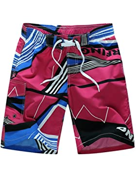 WDDGPZ Pantalones Cortos De Playa/Los Hombres De Verano Board Shorts Shorts De Playa Seca Rápida Casual M-6Xl...
