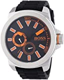 BOSS Orange Herren-Armbanduhr XL New York Multieye Analog Quarz Silikon 1513011