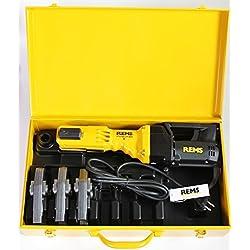 REMS sertisseuse Power Press E + 3 pinces sertir mâchoires M ou V + malette