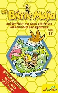 Die Biene Maja - Folge 17: Auf der Flucht vor Spatz und Frosch / Wieland macht eine Hungerkur [VHS]