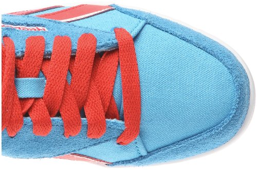 Reebok Fabulista Mid J85367, Sneaker Donna Blu (bleu (bleu / Rouge / Blanc))
