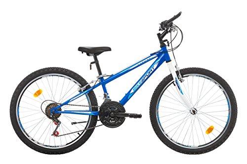 """Bikesport CASPER Bicicletta per Bambini 24"""", 18 velocità"""